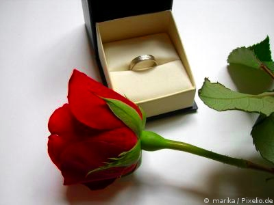 Trauringe als Verlobungsringe